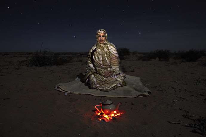 Djimi Elghalia cerca El Aaiún, Sahara Occidental (2009). Andrew McConell/Médicos del Mundo