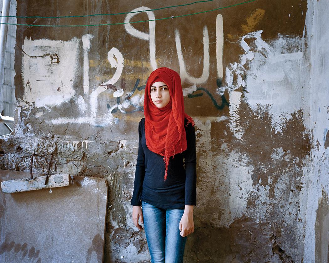 Samira 15, Bourj El Barajneh Refugee Camp, Beirut 2015