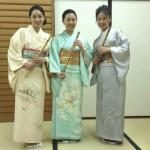能楽堂へ行こうコンサート 山田路子さん 武田朋子さんとご一緒に