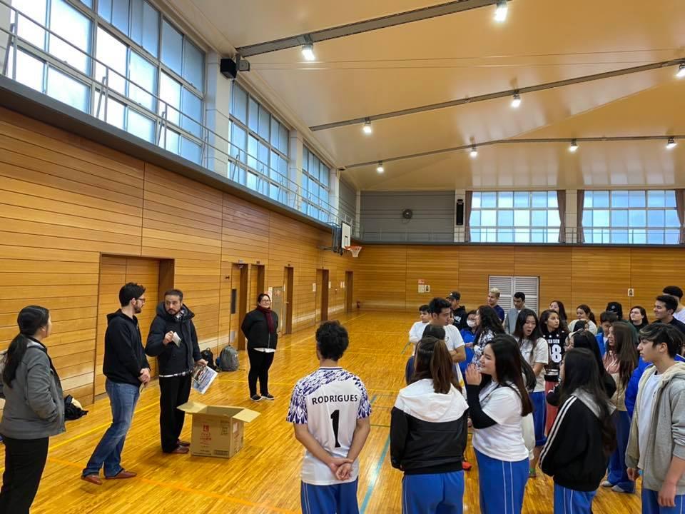 Escola Alcance – Atividade Esportiva