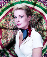 Grace Kelly Foulard Soie