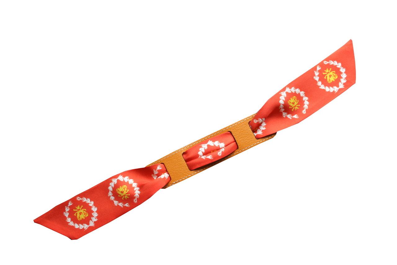 avec le bracelet chocolat/safran