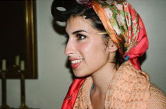 Amy Winehouse Foulard Soie