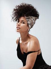 Alicia Keys Foulard Soie