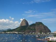 Baia de Botafogo.