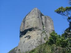 Pedra da Gávea. Lugar da plataforma de ASAS DELTA>