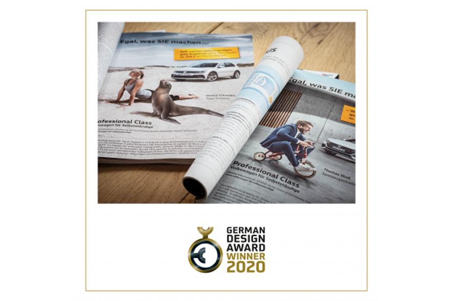 Kampagne »Egal was SIE machen ...« | Volkswagen AG Professional Class | Auftraggeber: Kochstrasse – Agentur für Marken GmbH