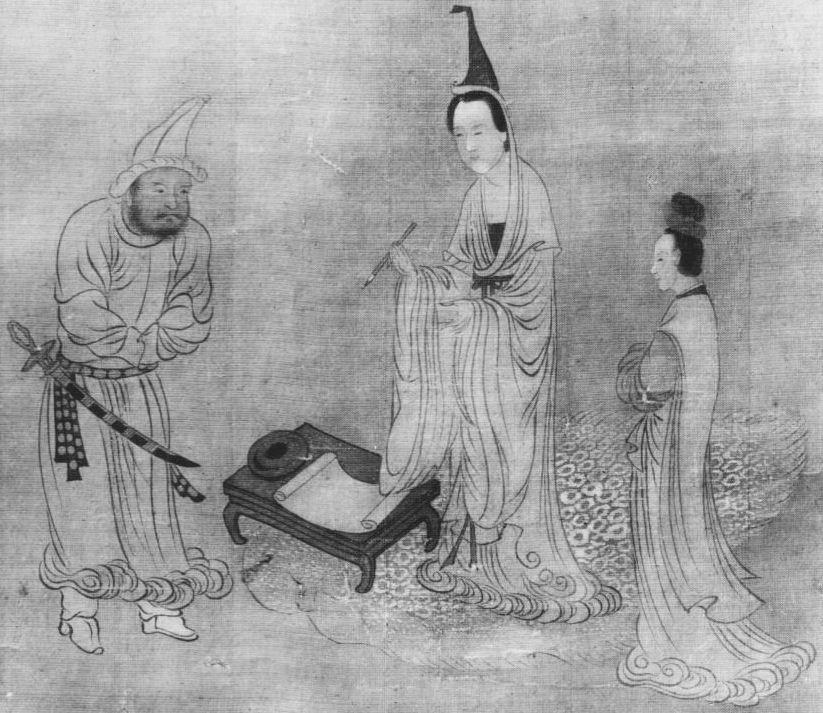 """La peinture chinoise au musée Guimet, par Albert Maybon (1878-). Revue d'art ancien et moderne """"L'Art et les artistes"""", Paris, n° 103, octobre 1913. Fig. 7."""