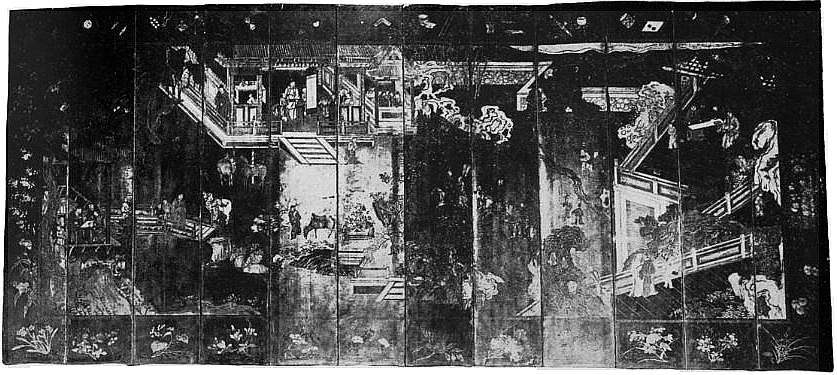 Page 485. Camille Gronkowsky. Les paravents en laque de Coromandel. Revue Renaissance de l'art français, novembre 1919.