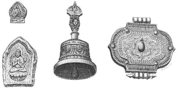 Desgodins (1826-1913), La mission du Thibet de 1855 à 1870. Instruments de lama.