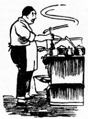 Le cuistot. Henri Lecourt : La cuisine chinoise. Éditions Albert Nachbaur, Pékin, 1925.