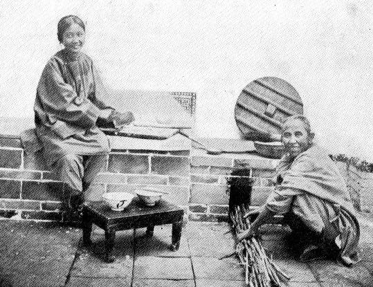 Femmes préparant le repas