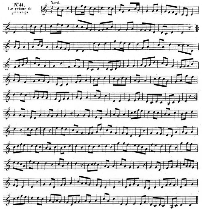 Air 2. Adrien de La Fage (1801-1862) : Musique des Chinois, livre I d'Histoire générale de la musique et de la danse. — Comptoir des imprimeurs-unis, Paris, 1844, tome premier, pages 1-400. — et Atlas (partitions et planches) : Forni, Bologna, 1971