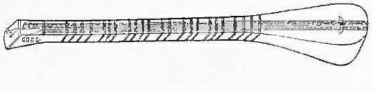 140 Sai-tho-eul (persan sétâr, Kâchgar sitâr), instrument de l'orchestre musulman ; le manche fait corps avec la caisse, qui est recouverte de peau ; les cordes sont fixées au bas de la table d'harmonie ;