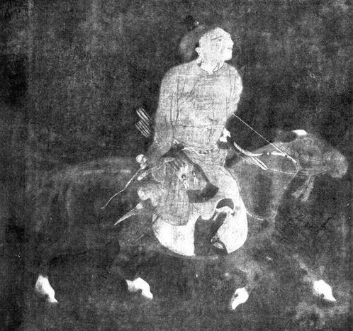 Cavalier mongol rentrant de la chasse. Petrucci, Tchao Mong-fou.