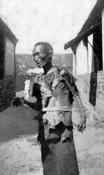 Une plaie de la Chine : le mendiant