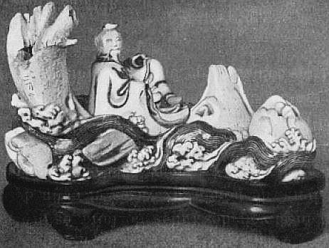 Tchang-K'ien descendant le fleuve Jaune. Marie-Juliette Ballot. Petite histoire de la porcelaine de Chine.
