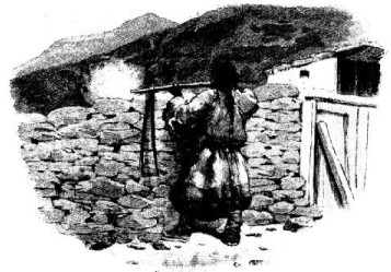 Tibétain tirant