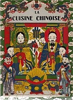 Couverture. Henri Lecourt : La cuisine chinoise. Éditions Albert Nachbaur, Pékin, 1925.