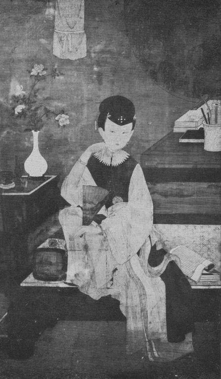 La peinture en Extrême-Orient. I. La peinture chinoise, par le marquis de TRESSAN L'Art et les artistes, Revue d'art ancien et moderne, Paris, n° 103, octobre 1913, fig. 8 de 8.