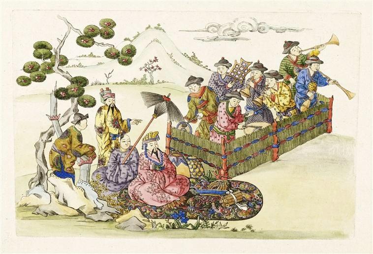 Image disponible sur artrmngp.fr. Hélène Belevitch-Stankevitch : Le goût chinois en France au temps de Louis XIV. Jouve et Cie, Paris, 1910, XLIV+272 pages.
