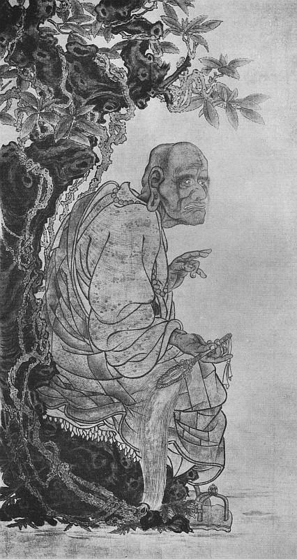 Un rakan ou arhat. Ernest Francisco FENELLOSA (1853-1908) : L'art en Chine et au Japon