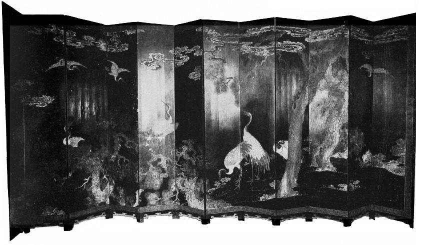 Page 489. Camille Gronkowsky. Les paravents en laque de Coromandel. Revue Renaissance de l'art français, novembre 1919, pages 484-492.
