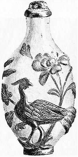 Tabatière de verre. Maurice Paléologue (1859-1944) : L'art chinois — Alcide Picard, éditeur, Paris, 1910, 320 pages. Première édition : Maison Quantin, Paris, 1887.