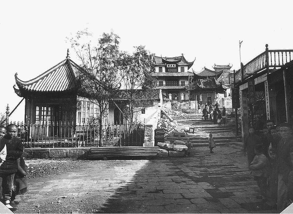 """397. — Constructions diverses à Ou-tai-chang sur la partie de la ville nommée """"la Lanterne""""."""