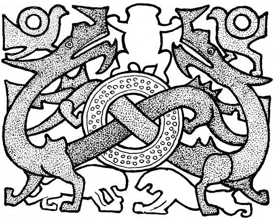 Marinus Willem de VISSER (1876-1930) : The Dragon in China. — J. Müller, Amsterdam, 1913, pages I-IX, 1-134 (Book I), 231-237 de XII+247 pages.