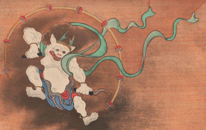 Judith Gauthier (1845-1917) : Le paravent de soie et d'or. Miao-Chen, la déesse de la miséricorde, descend aux enfers.