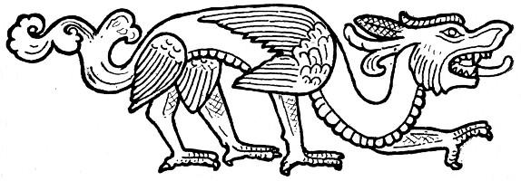 Fig. 142. Gisbert Combaz (1869-1941) : Masques et dragons en Asie. La Chine. — Mélanges chinois et bouddhiques, Institut belge des Hautes Études Chinoises,  vol. VII. Bruges, 1945.
