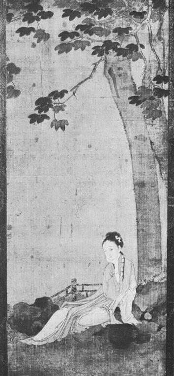 La peinture en Extrême-Orient. I. La peinture chinoise, par le marquis de TRESSAN L'Art et les artistes, Revue d'art ancien et moderne, Paris, n° 103, octobre 1913, fig. 6 de 8.