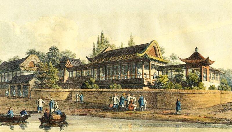 Tien-sing. Henry Ellis (1777-1855) : Voyage en Chine, ou Journal de la dernière ambassade anglaise à la cour de Pékin. Delaunay et Mongie, Paris, 1818.