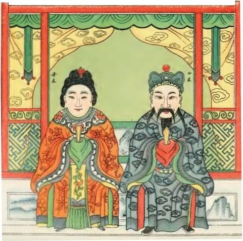 Tch'oang-kong Tch'oang-mou, les Esprits du lit.