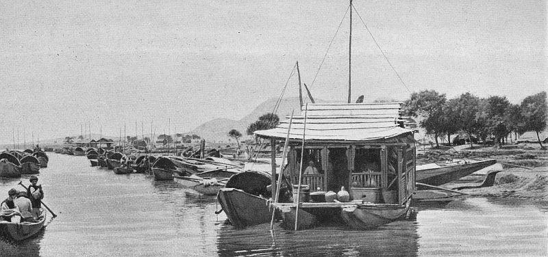 Yun-Nan-Sen, bord du canal. Labarthe, Dans les provinces du fond de la Chine.