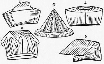 Bonnets de religieux. Alphonse FAVIER (1837-1905) : Péking. Description. — Desclée de Brouwer, Paris, Lille, 1902, pages 271-408.