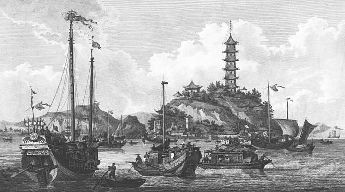 Chin-Shan, ou la Montagne d'Or.
