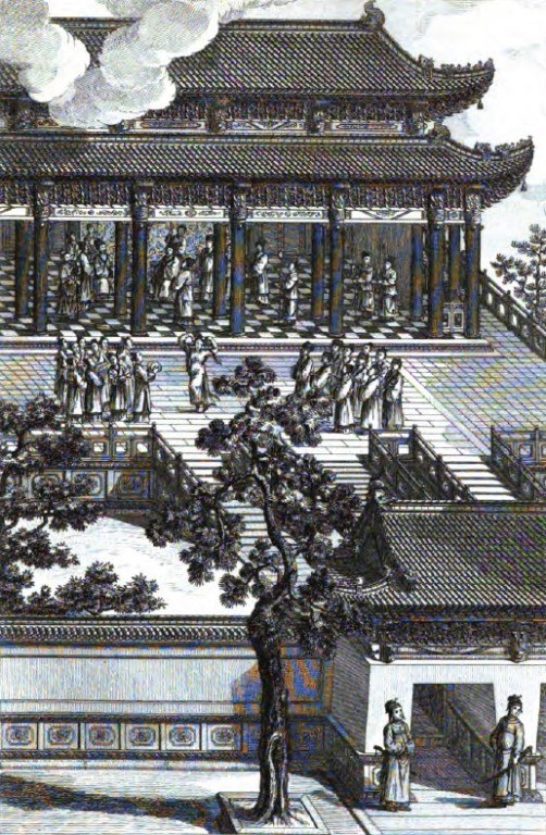 Le Ting de Kia-kou que le Roi de Tsi avait fait construire sur un tertre