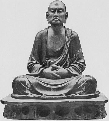 Statue d'un Louan. Marie-Juliette Ballot. Petite histoire de la porcelaine de Chine.