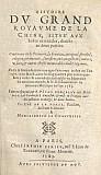 Matthieu RICCI (1552-1610) et Nicolas TRIGAULT (1577-1628) :  Histoire de l'expédition chrétienne au royaume de la Chine, entreprise par les Pères de la Compagnie de Jésus, et traduite en français par David Floris de Riquebourg-Trigault