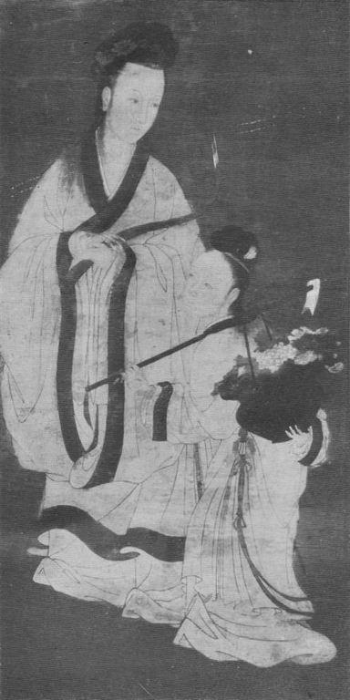 La peinture en Extrême-Orient. I. La peinture chinoise, par le marquis de TRESSAN L'Art et les artistes, Revue d'art ancien et moderne, Paris, n° 103, octobre 1913, fig. 2 de 8.