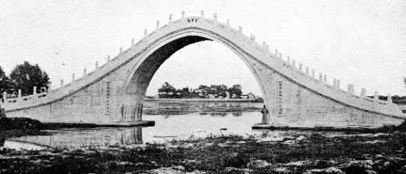 Le « pont bossu » du Palais d'été