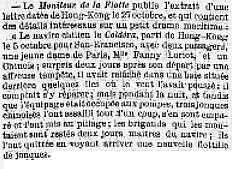 Fanny LOVIOT. LES PIRATES CHINOIS