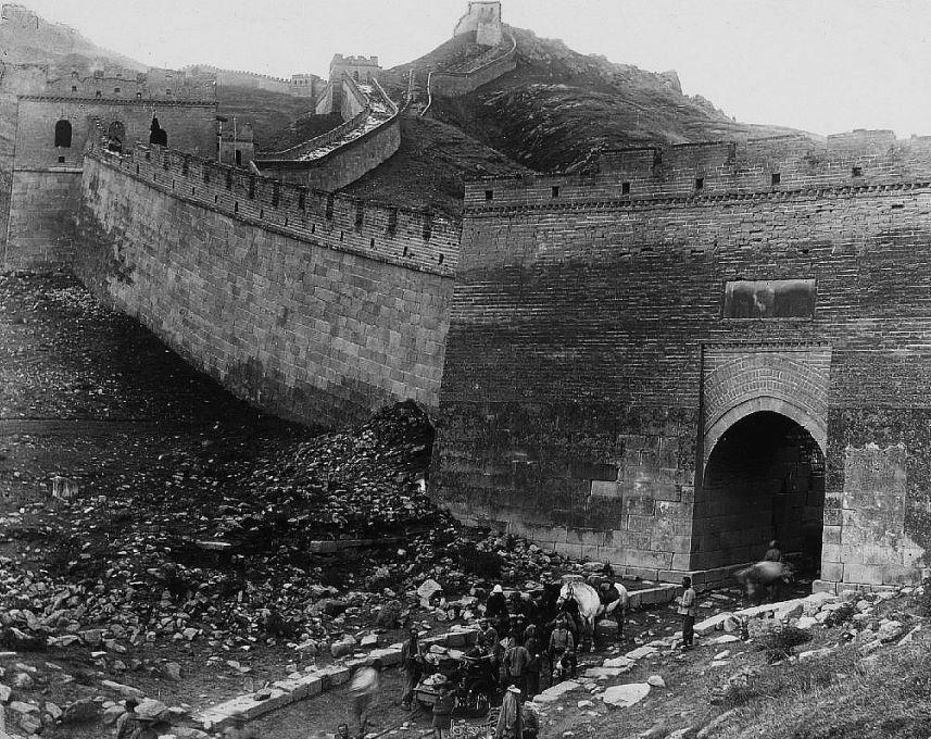 201. — Environs de Pékin. de Chine à la sortie de la passe de Nan-kow.