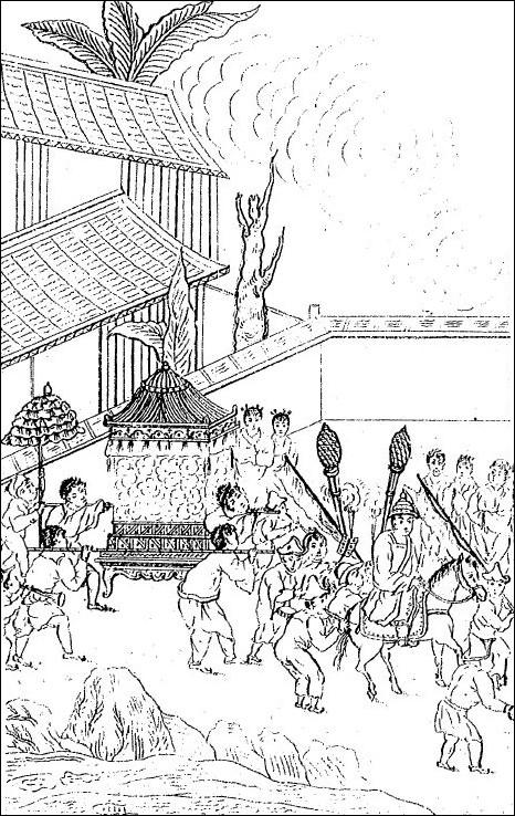 La chaise de mariage. Hau-Kiou-Choaan, trad. Eidous, 1766-1828.