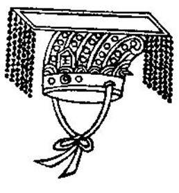 Le bonnet de cérémonie mièn était porté par l'empereur, les princes, les ministres d'Etat et les tái fŏu.