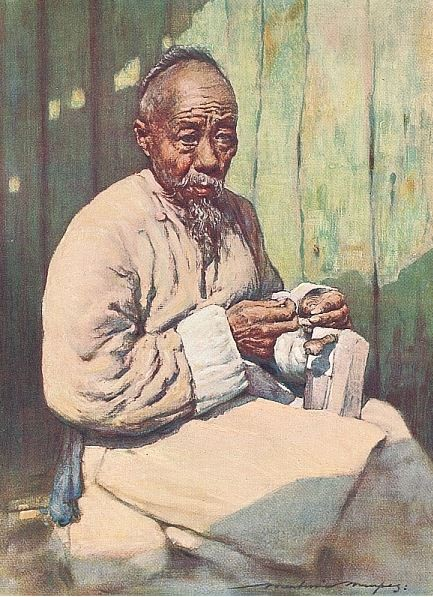 A shoemaker.
