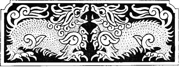 """Illustration 2. P'ou Soung-lin (1640-1715) : Contes magiques d'après l'ancien texte chinois de l""""'Immortel en exil"""". Traduction de Louis Laloy (1874-1944). L'édition d'art, H. Piazza, Paris, 1925, 216 pages. Ornementation dessinée par Paul Zenker."""