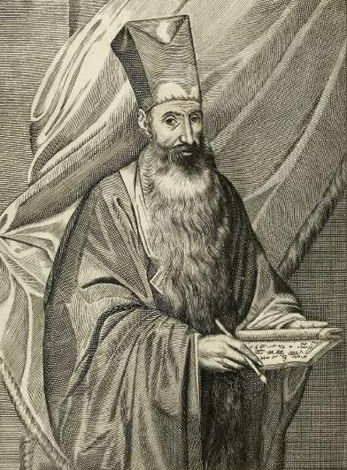 Alvarez Semedo (1585-1658). Portrait extrait des éditions espagnole et anglaise. - Histoire universelle de la Chine. À Lyon, chez Hierosme Prost, rue Mercière, au vase d'or, 1667, pages 1-372.